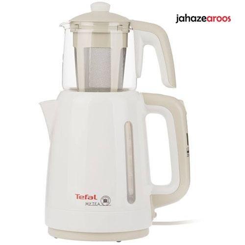 چای ساز تفال مدل BJ201 ایستاده سفید