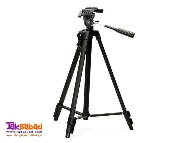 تصویر سه پایه دوربین ویفنگ مدل WT-330A Weifeng WT-330A Camera Tripod