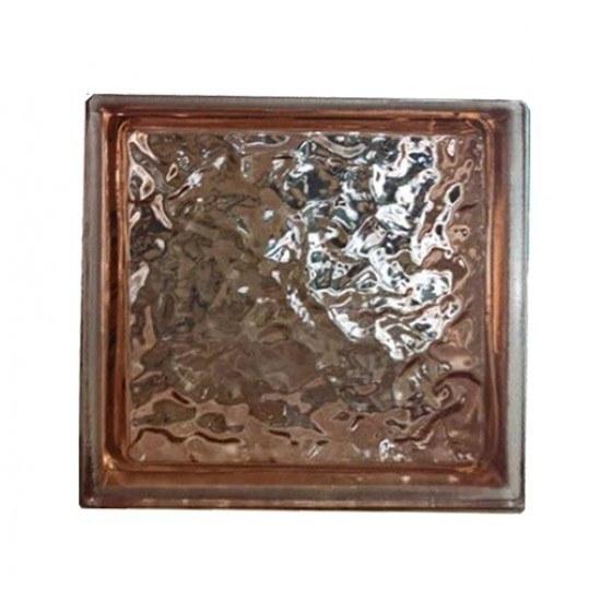 تصویر بلوک شیشه ای کاوه مدل چکشی پوست پیازی