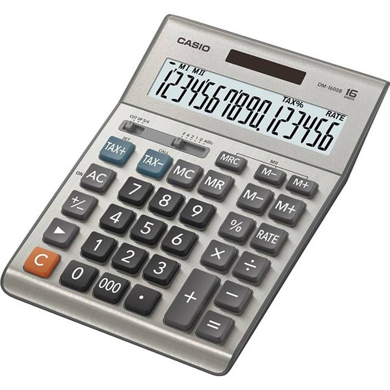 تصویر ماشین حساب مدل DM-1600B کاسیو Casio DM-1600B calculator