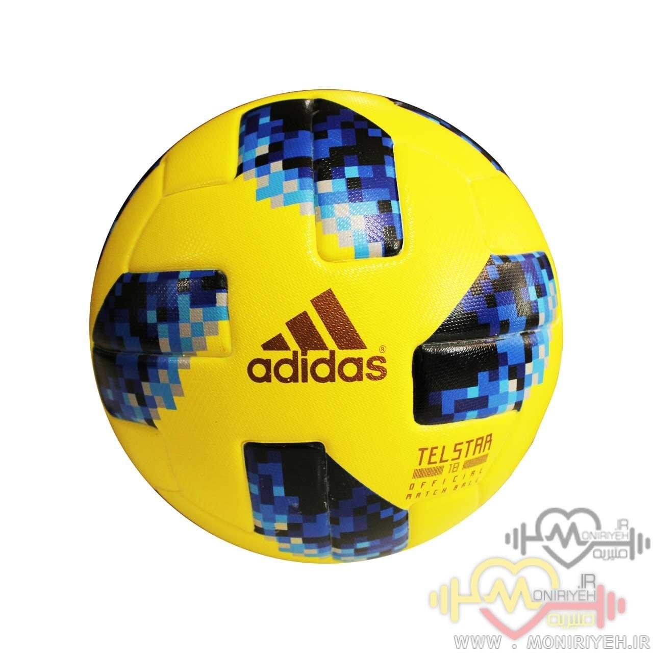 تصویر توپ فوتبال تل استار مدل جام جهانی روسیه
