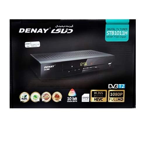 گیرنده دیجیتال دنای stb-1011h   DENAY DIGITAL TV TUNER STB1011H MSTAR 7T10E CHIPSET