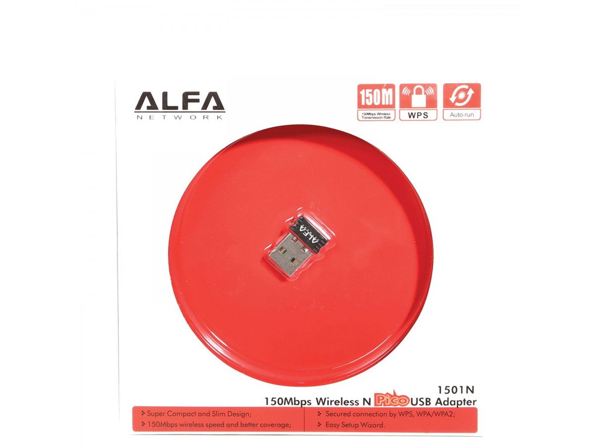 تصویر کارت شبکه بی سیم ALFA مدل 1501N Network Card ALFA Model 1501N