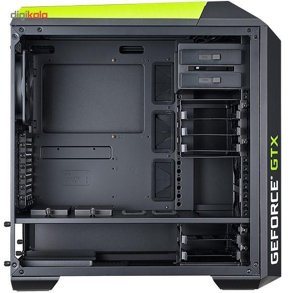 تصویر کیس کولرمستر مدل مستر کیس پرو 5 انویدیا ادیشن کیس Case کولر مستر MasterCase Pro 5 NVIDIA Edition Mid Tower Case