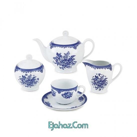 تصویر فلورانس سری ایتالیا اف سرویس چینی 17 پارچه چای خوری فلورانس 6 نفره درجه: عالی