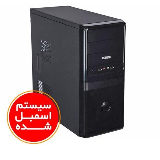 تصویر سیستم اسمبل شده اداری و خانگی بایوستار مدل B3 با پلتفرم اینتل PC B3 Office Biostar 4400 4GB(2400) RAM 120GB SSD