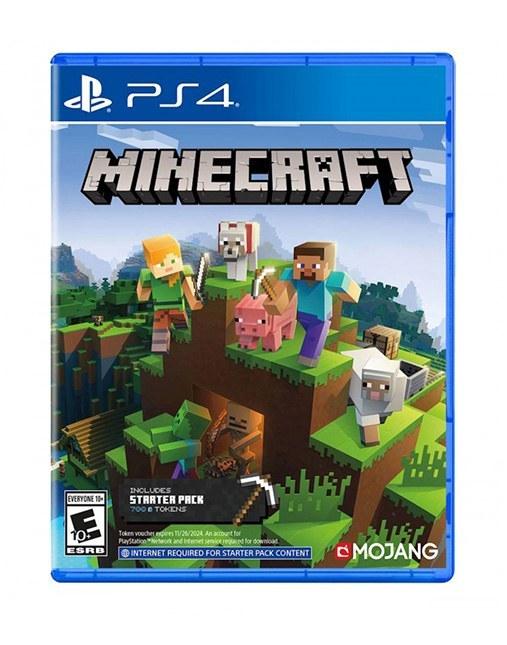 تصویر بازی Minecraft Bedrock Edition برای PS4 Minecraft Bedrock Edition PS4 Game