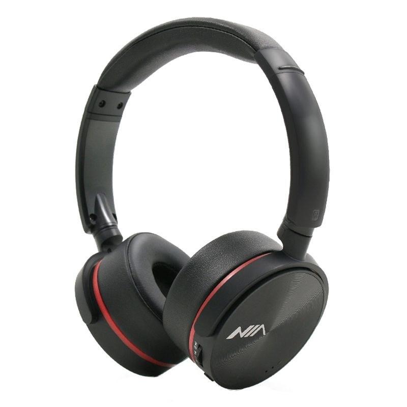 عکس Wireless headphones NIA Q6 هدفون بلوتوثی نیا Q6 wireless-headphones-nia-q6