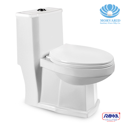 عکس توالت فرنگی مروارید مدل رومینا  توالت-فرنگی-مروارید-مدل-رومینا
