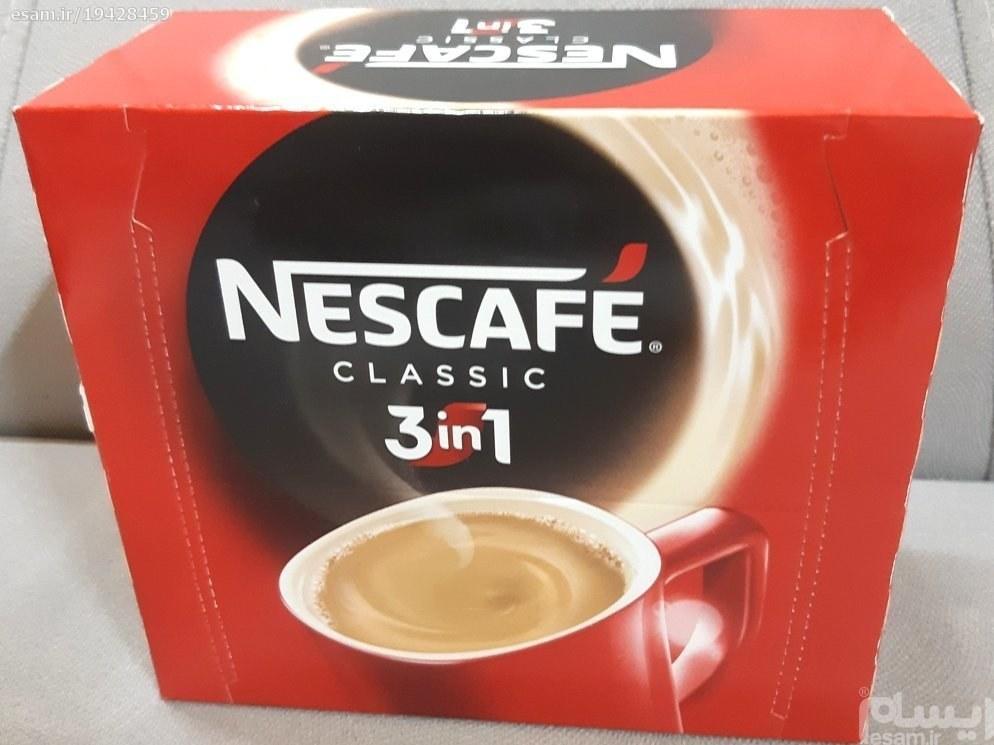 تصویر قهوه فوری نسکافه ۳ در ۱ کلاسیک نستله ۲۰ عددی -
