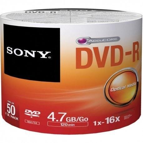 دی وی دی سونی - SONY  - شرینگ - پک 50 عددی  