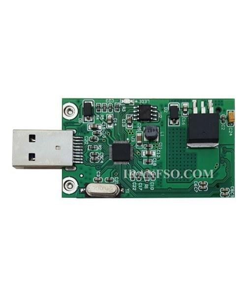 تصویر مبدل هارد لپ تاپ MSata به USB3