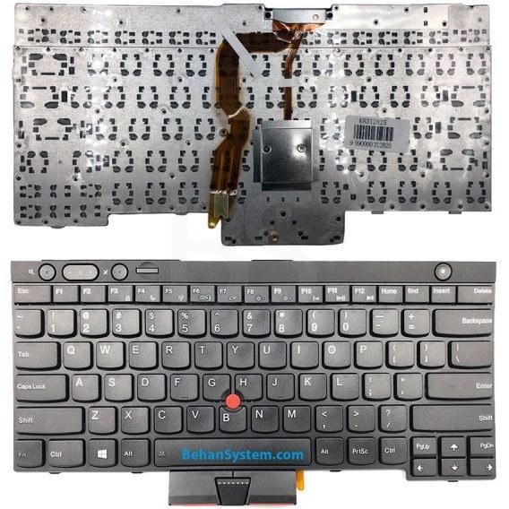 تصویر کیبورد لپ تاپ LENOVO ThinkPad T430 /T430i / T430S / T430SI