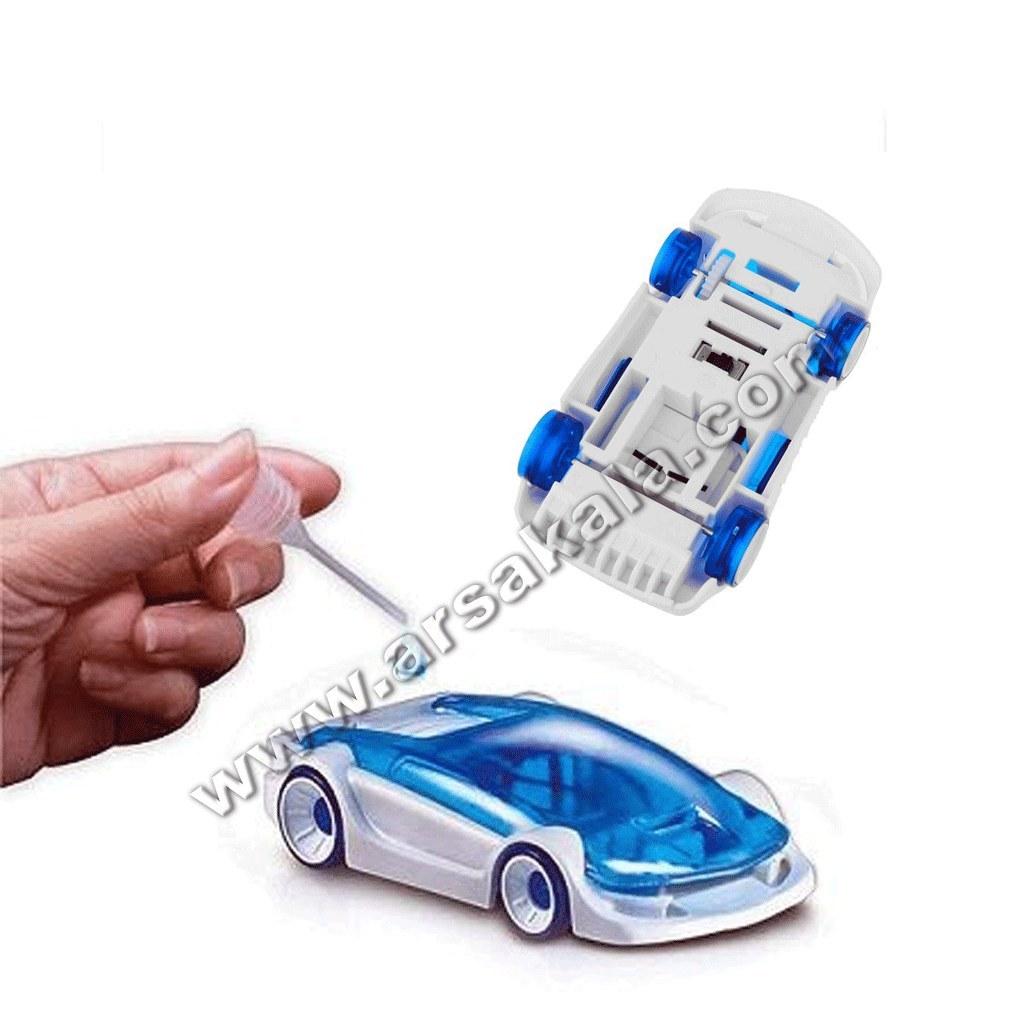 ماشین ربات با سوخت نمک  