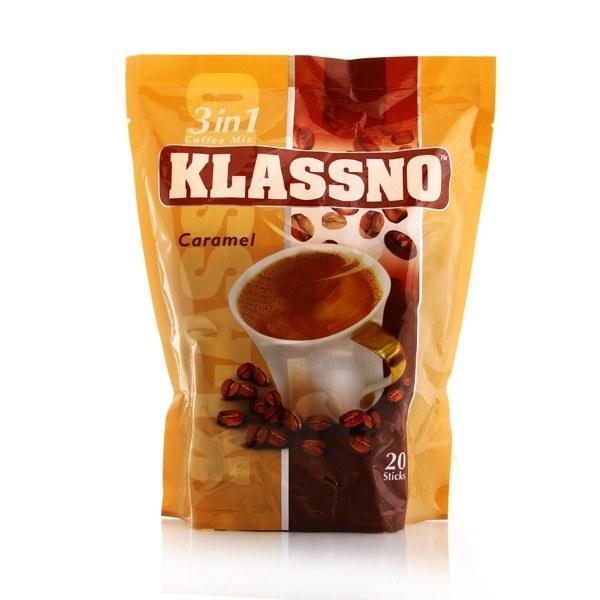 تصویر قهوه فوری کارامل (۳در۱) کلاسنو