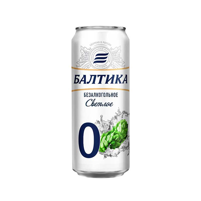 تصویر آبجو بدونه الکل کلاسیک بالتیکا ۵۰۰ میلی لیتر