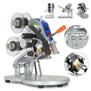 تصویر تاریخ زن دستی حرارتی رومیزی مدل DCN200 manual Termal printer DCN200