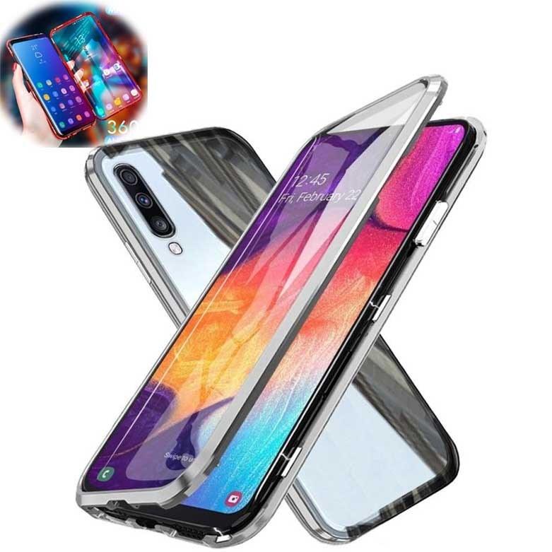 قاب مگنتی + محافظ صفحه سامسونگ Magnetic 360 Case | Galaxy A50 |