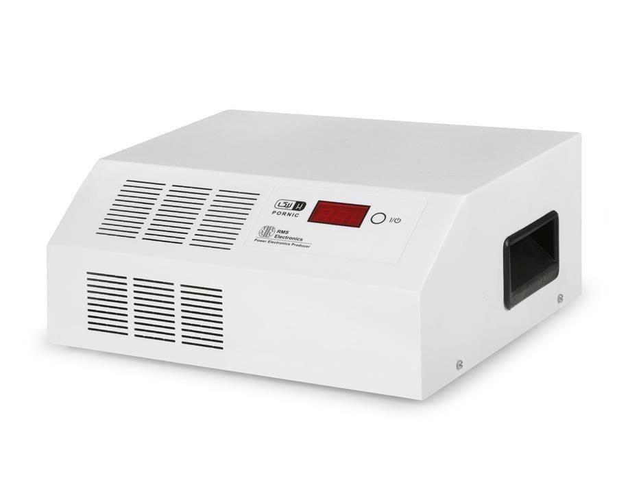 تصویر استابلایزر پرنیک مدل ECO-8000 Full ظرفیت 8000 ولت آمپر