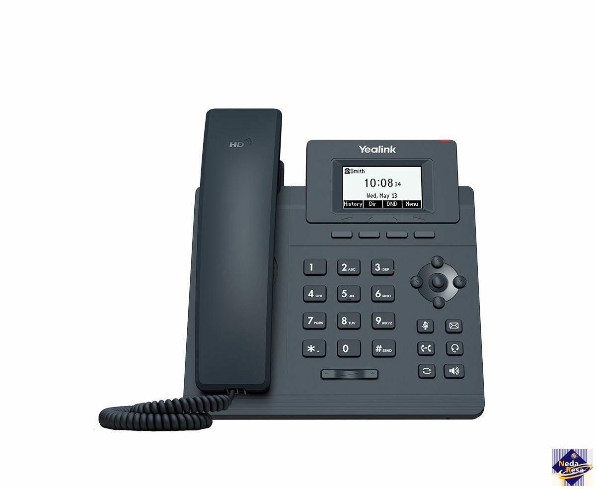 تصویر تلفن تحت شبکه مدل SIP-T30 یالینک Yalink SIP-T30 network telephone
