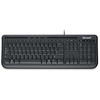 تصویر کیبورد مایکروسافت وایرد 600 Microsoft Wired Keyboard 600