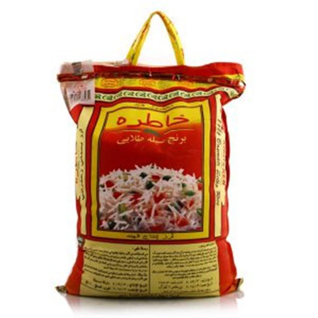 برنج درجه یک هندی دانه بلند خاطره  