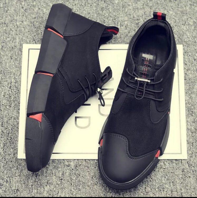 کفش جیر و چرم اسپرت مردانه