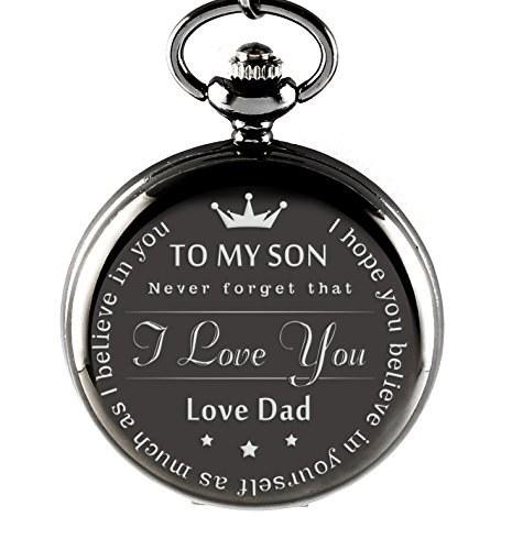 ساعت جیبی مردانه To My Son محصول memory gift shop |