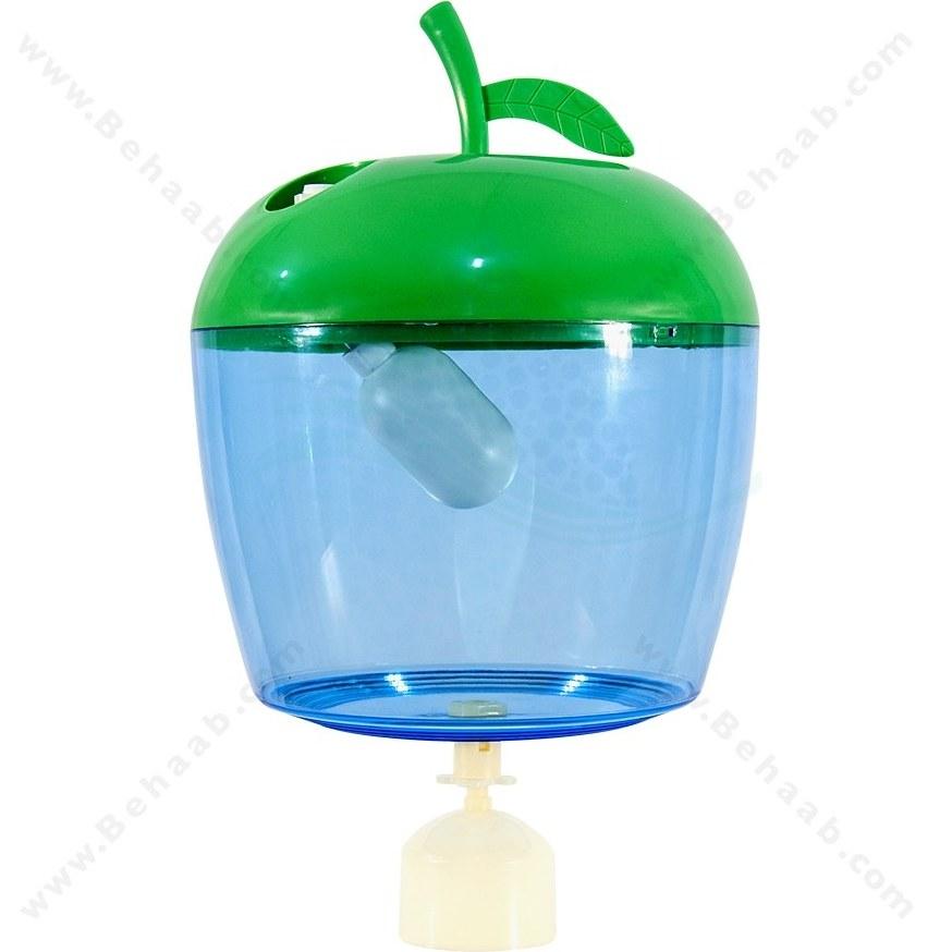 تصویر مخزن آبسردکن شناور دار طرح سیب Water Pot Apple Shape For Water Dispenser