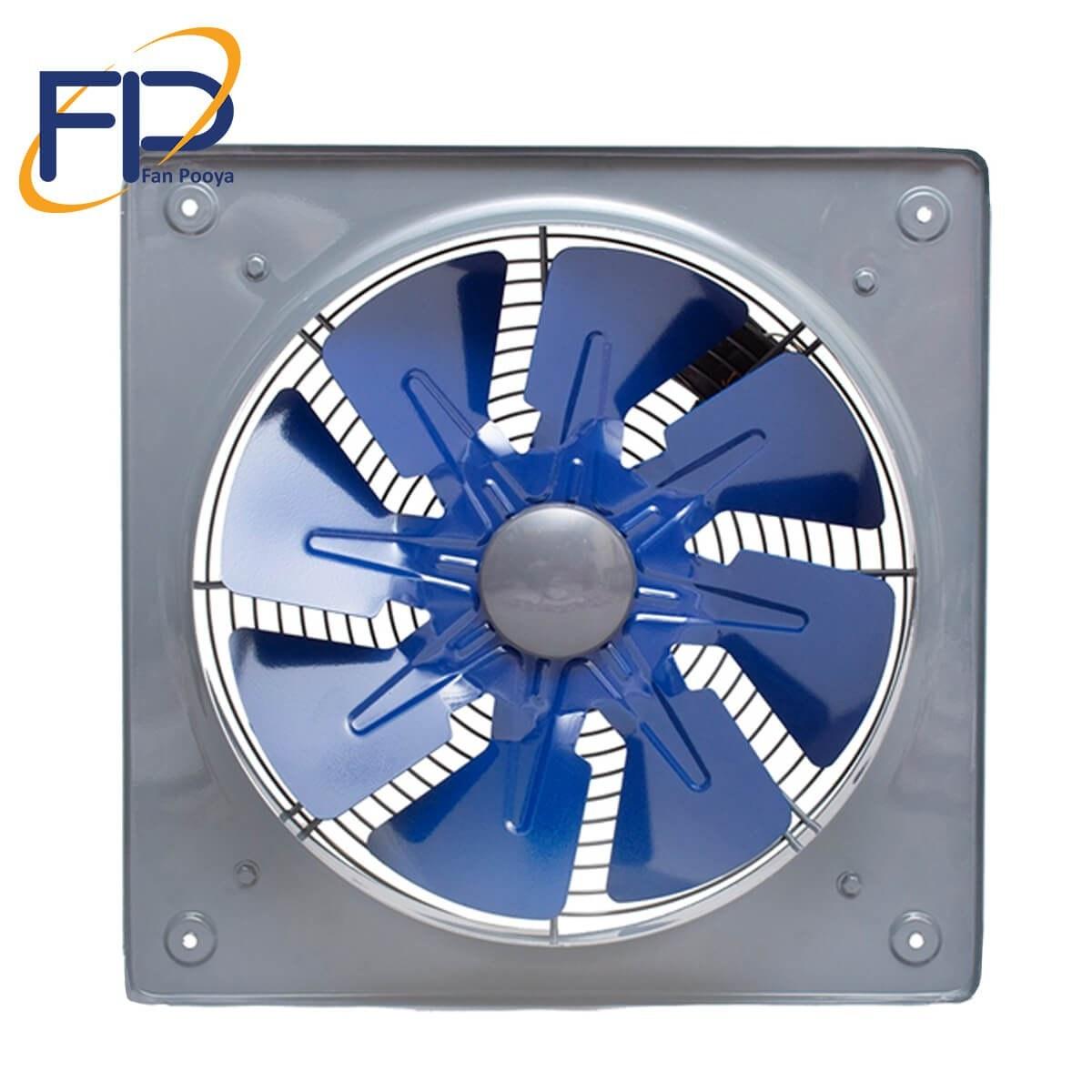 تصویر هواکش 40 صنعتی فلزی دمنده مدل VIA-40C4S