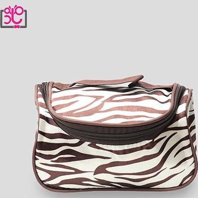 تصویر کیف آرایشی دخترانه طرح دار