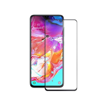 گلس محافظ تمام صفحه گوشی سامسونگ Samsung Galaxy A70 | Samsung Galaxy A70 Full Cover Glass Screen Protector