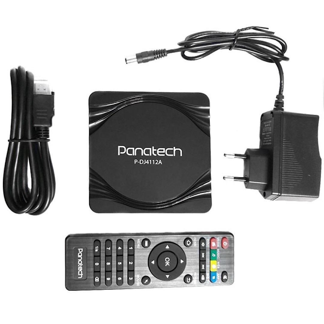 تصویر اندروید باکس Panatech مدل P-DJ4412A Panatech P-DJ4412A Android Box