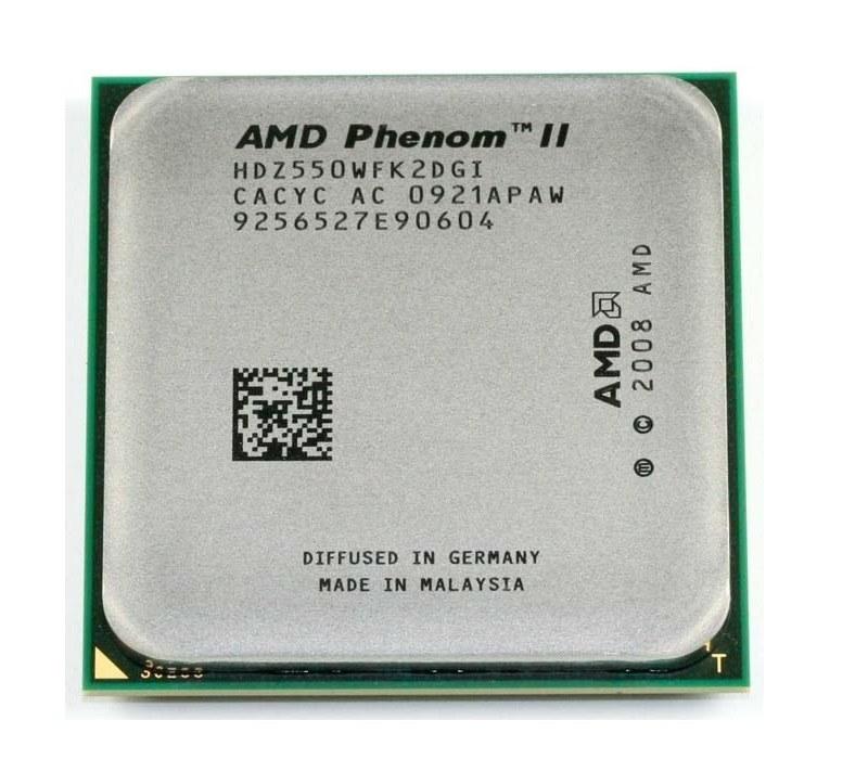 پردازنده ای ام دی سری فنوم ۲ مدل ایکس ۲ ۵۵۰