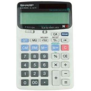 تصویر ماشین حساب  شارپ مدل El-387R SHARPEl-387R Calculator