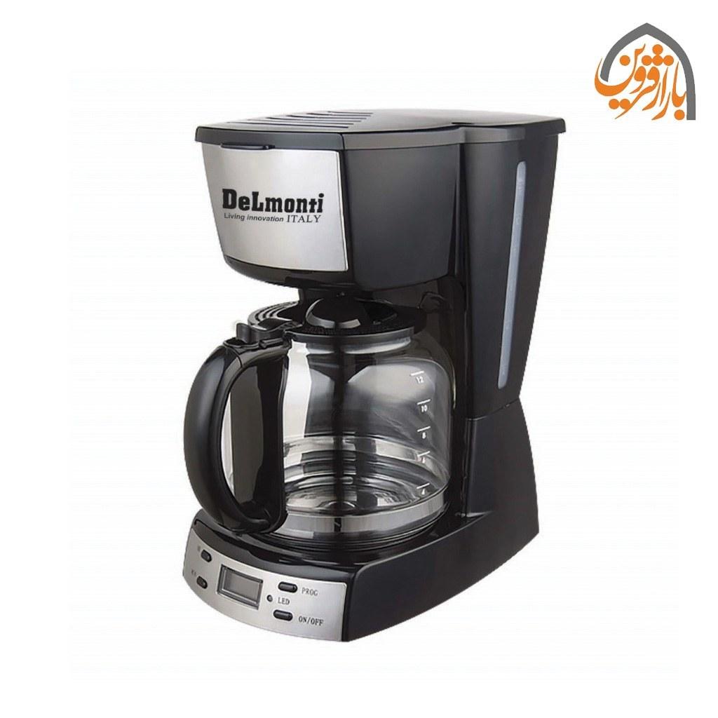 تصویر قهوه ساز دیجیتال دلمونتی مدل DL655 Delmonti DL655 Digital Coffee Maker