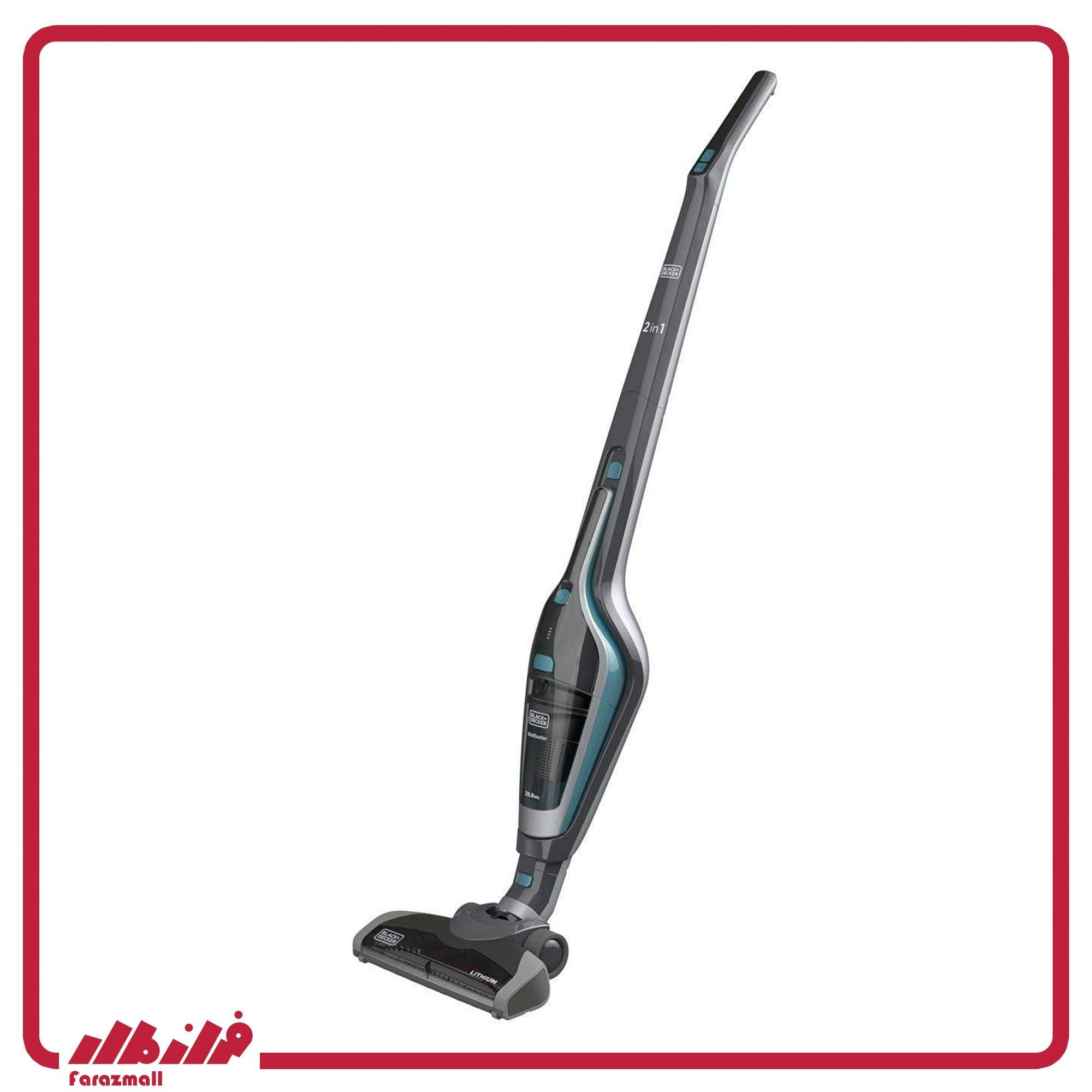 تصویر جارو شارژی بلک اند دکر 14.4 ولت black and decker SVA420B SVA420B black and decker Chargeable Vacuum Cleaner