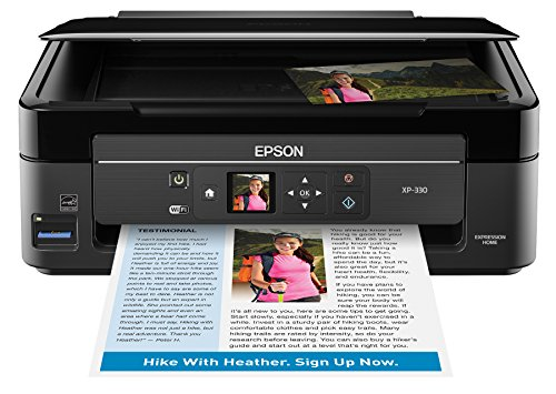 پرینتر اپیونیک اکسپرس ایکس-330 بی سیم رنگی با اسکنر و کپی، پرینت Amazon Dash Enabled
