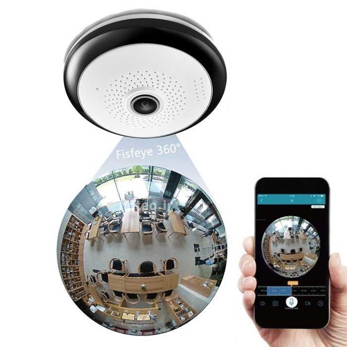 دوربین بی سیم ۳۶۰ درجه ICSEE | Panoramic 360 Degree Wifi IP Camera 1080P Wifi