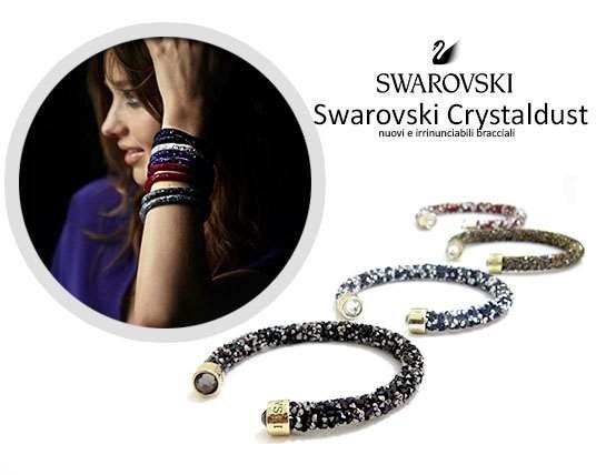 دستبند طرح سواروسکی تک رج Swarovski
