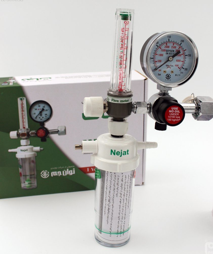 مانومتر اکسیژن توان جم مدل نجات