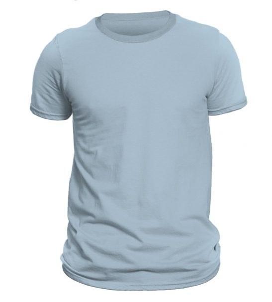 تیشرت آستین کوتاه مردانه رنگ آبی روشن