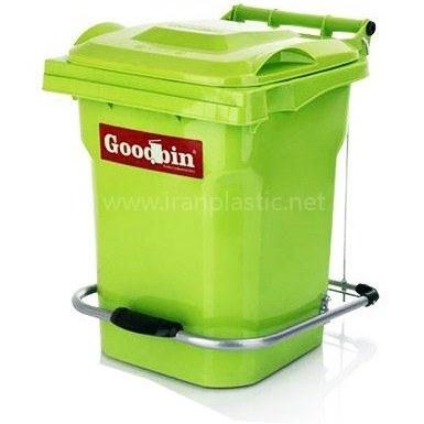 تصویر گودبین سطل زباله پدالدار مخزن 20 لیتری Goodbin
