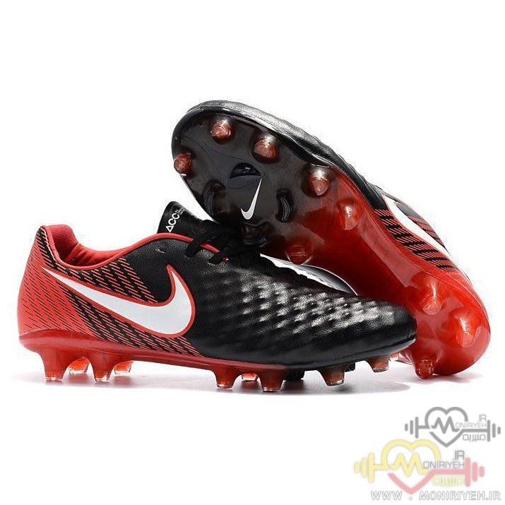 تصویر کفش فوتبال استوک نایک – مشکی Nike Magista Opus