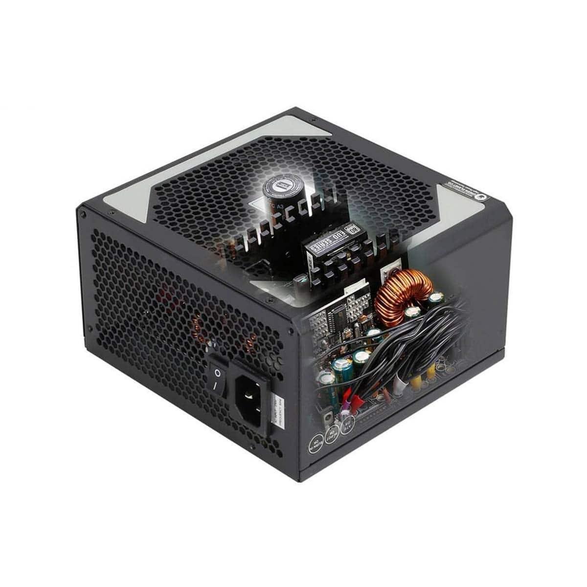 تصویر منبع تغذیه کامپیوتر گرین مدل GP580A-EUD Green GP580A-EUD Computer Power Supply