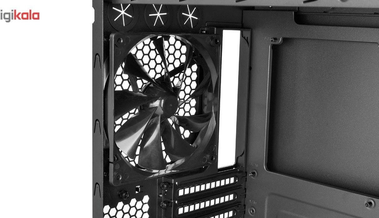 img کیس ترمالتیک مدل Suppressor F۵۱ Tempered Glass Edition Thermaltake Suppressor F51 Tempered Glass Edition Mid Tower Case