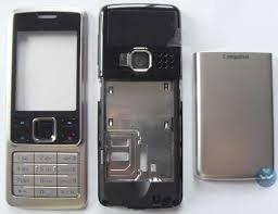 تصویر قاب اصلی کرهای نوکیا ۶۳۰۰ (با شاسی) Nokia 6300 Korean main frame