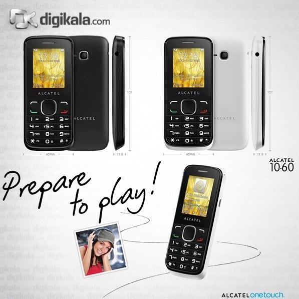 img گوشی آلکاتل وان تاچ 1060D | ظرفیت 4 مگابایت Alcatel One Touch 1060D | 4MB