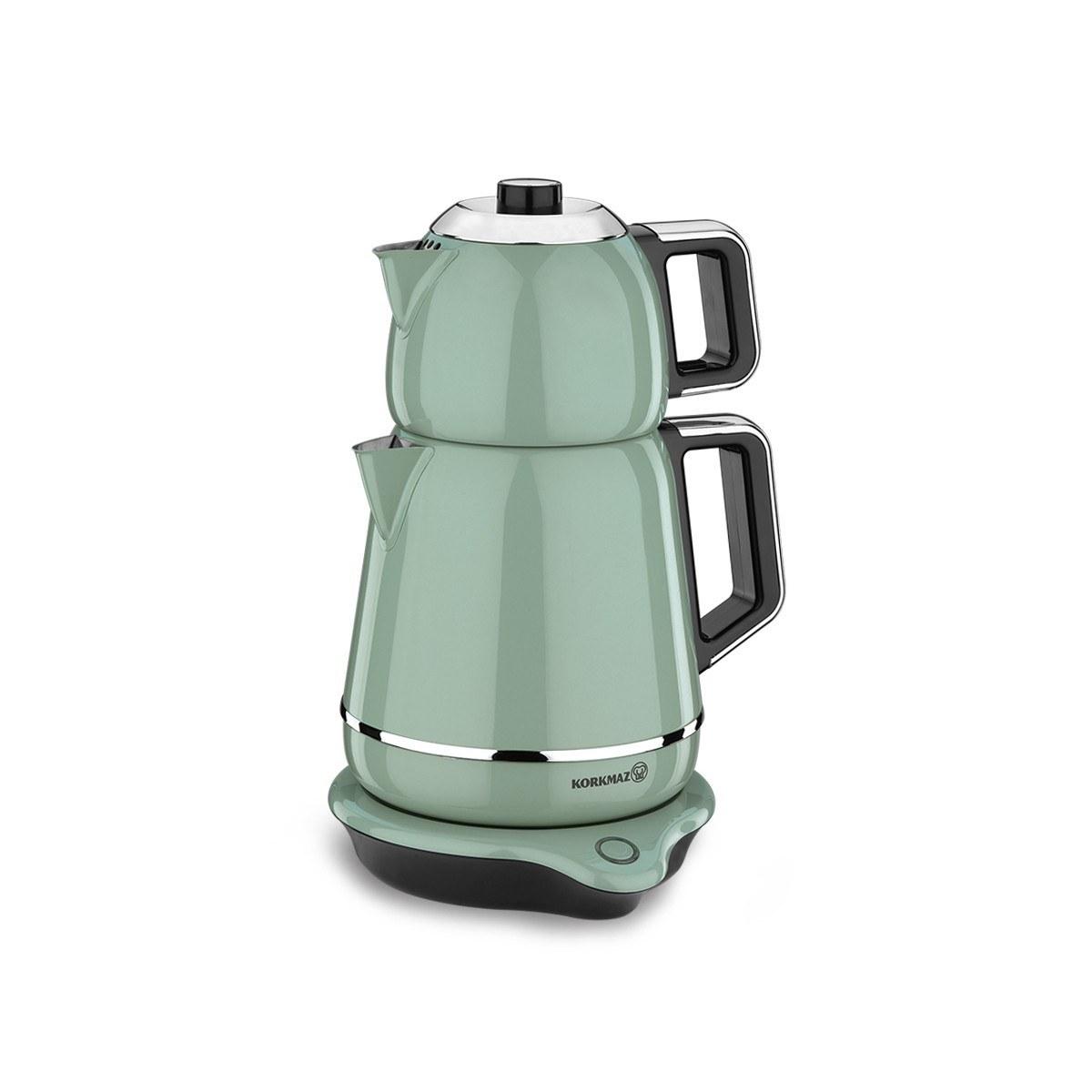 تصویر چای ساز کرکماز مدل Demiks A332 Korkmaz Demiks A 332 Tea Maker