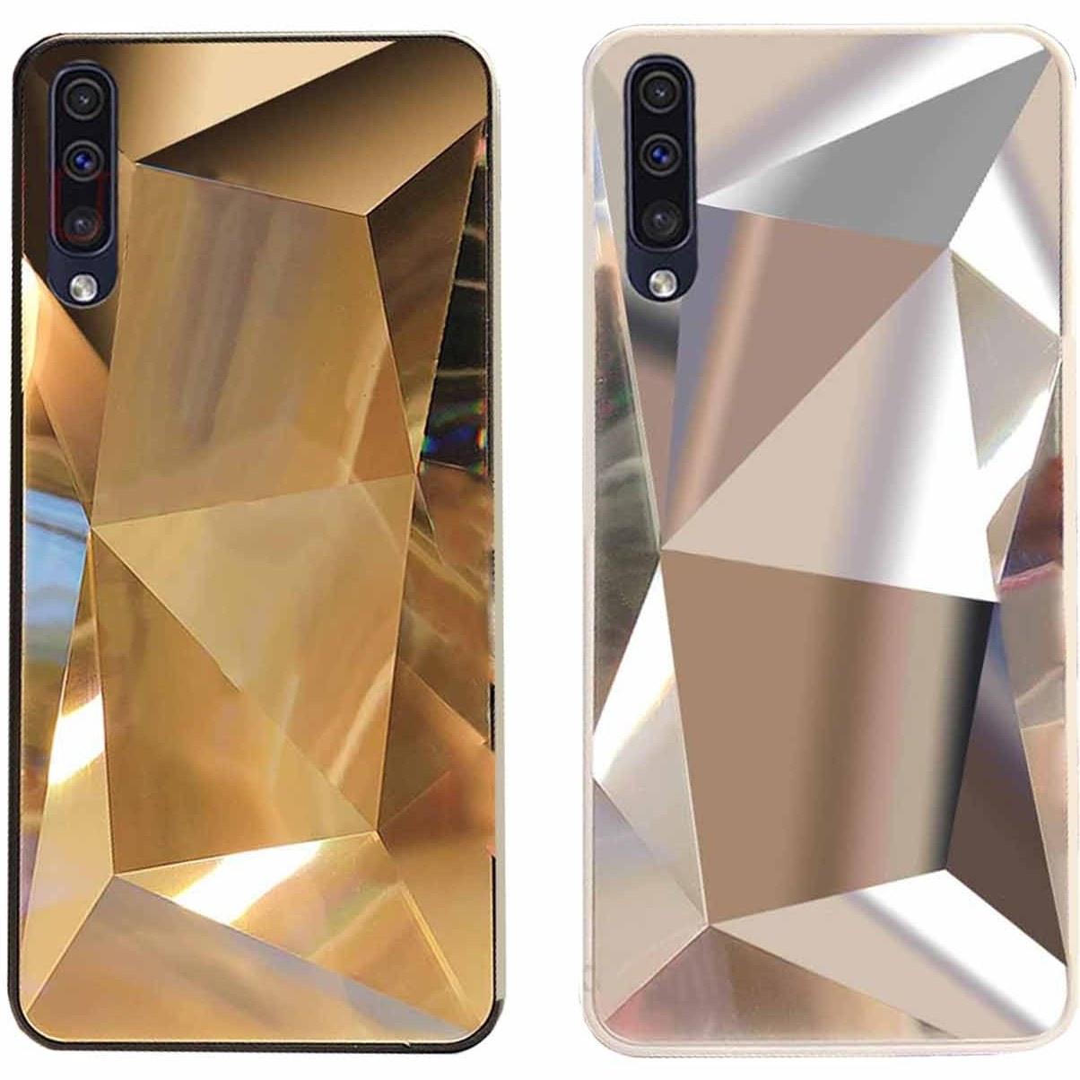قاب الماسی پشت گلس سامسونگ Luxury Diamond Glass Case | Galaxy A50 |